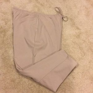Modern Soul Stretch Tan Slacks with Drawstring 2 X